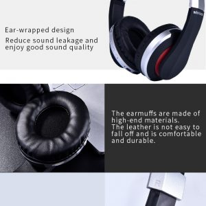 SUPRA Wireless Foldable Headphones with Microphone  21
