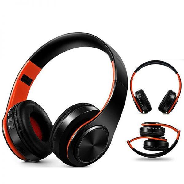 FIRO Wireless Foldable Headphones with Microphone  1