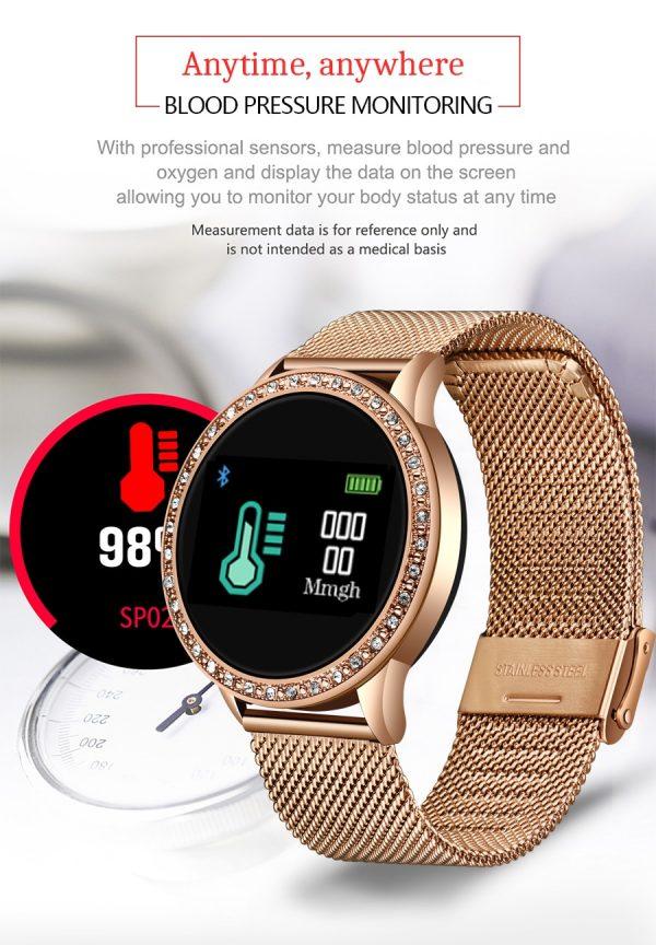 ZURI Lux Smartwatch 12