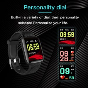IVO Fitness Tracker - Heart Rate Monitor - Pedometer 3