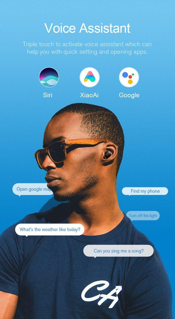 JAIR Wireless Fingerprint Touch Earbuds  9
