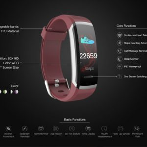 KAIN Fitness Activity Tracker 17