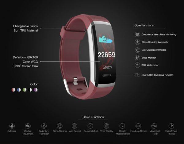 KAIN Fitness Activity Tracker 17