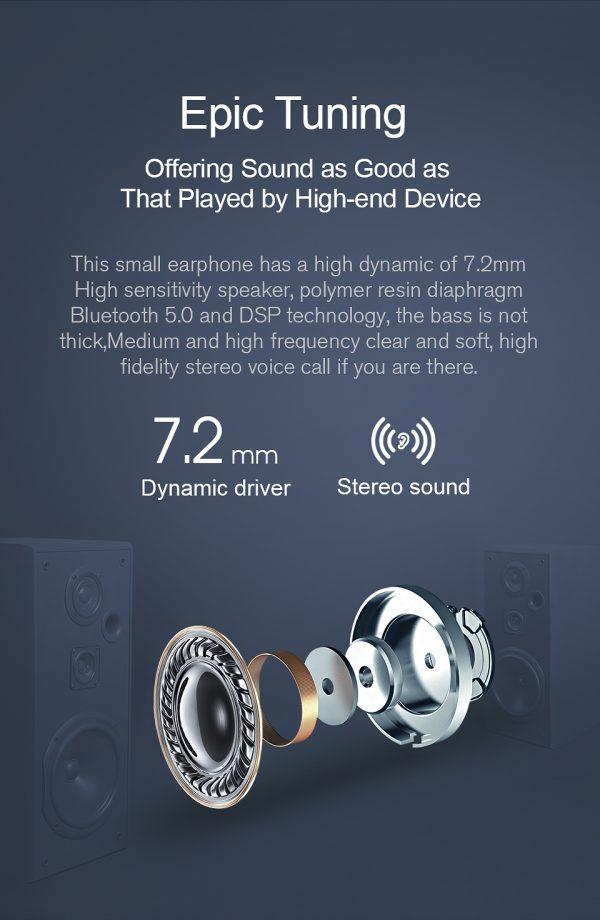 JAIR Wireless Fingerprint Touch Earbuds  12