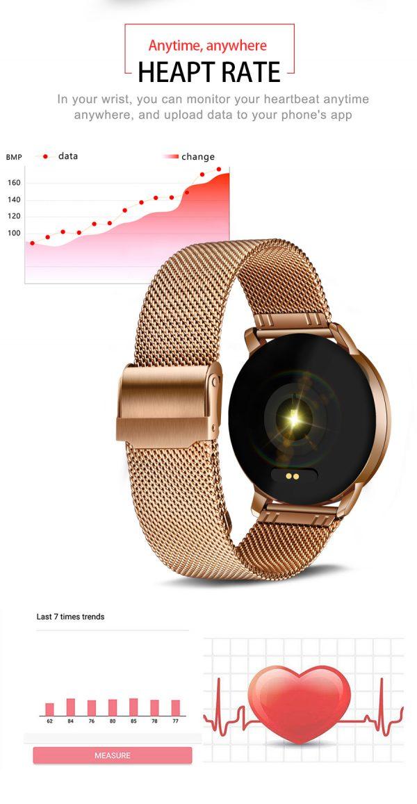 ZURI Lux Smartwatch 10