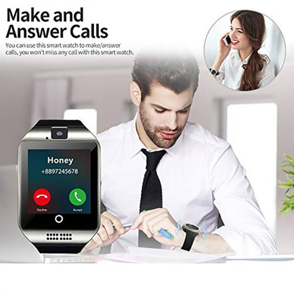 Bluetooth Smart Watch DZ09 Phone With Camera Sim TF Card Android SmartWatch Phone Call Bracelet Watch for Android Smart phone 3