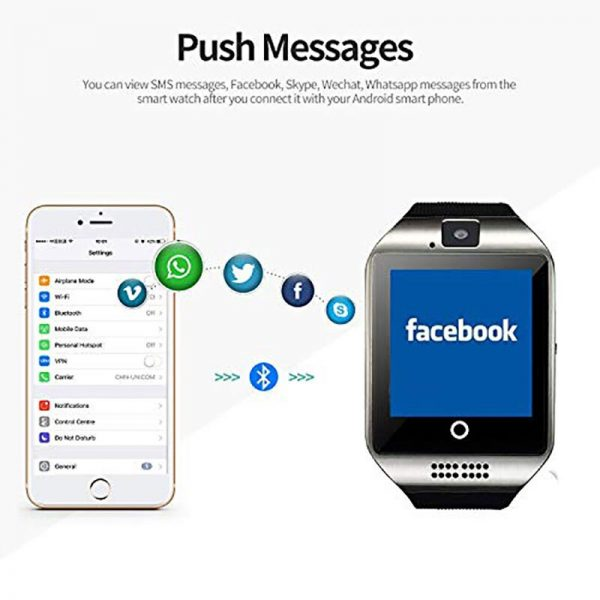Bluetooth Smart Watch DZ09 Phone With Camera Sim TF Card Android SmartWatch Phone Call Bracelet Watch for Android Smart phone 4