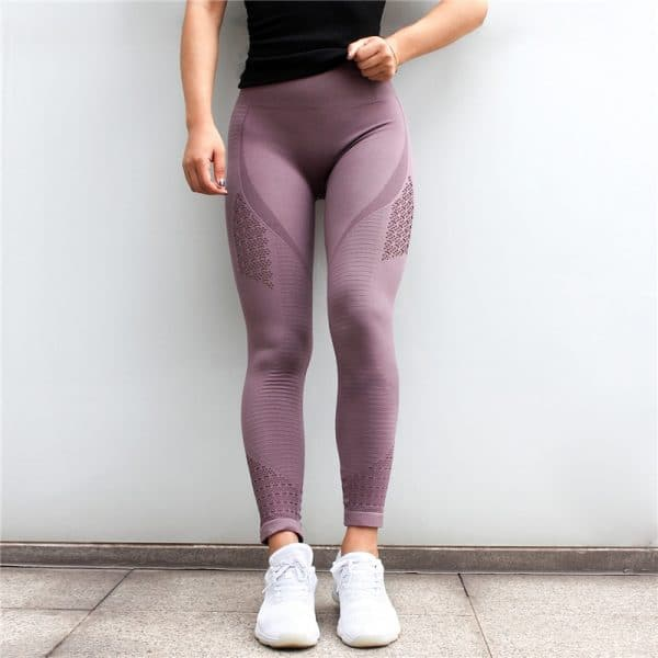 Women  Seamless Yoga Pants 5