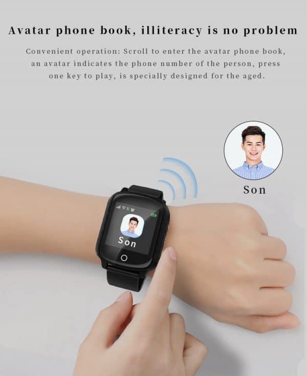 Senior SmartWatch with GPS SOS 4