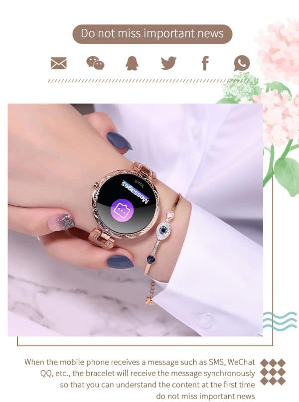 Lumi Women's Smartwatch 4