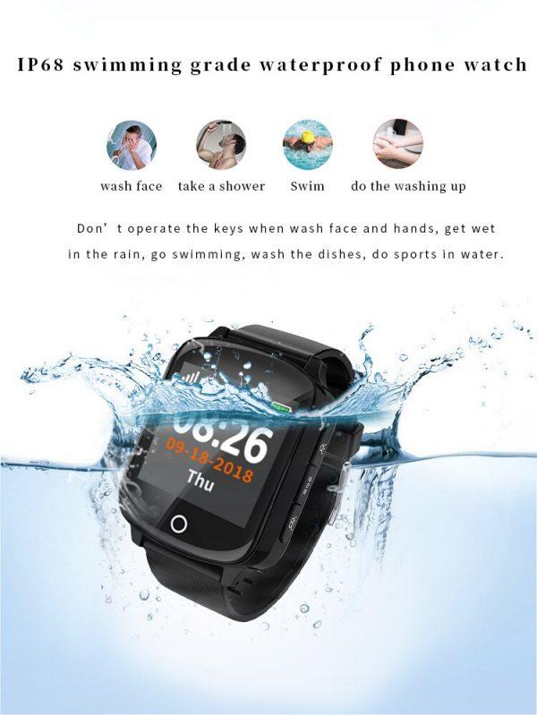 Senior SmartWatch with GPS SOS 2