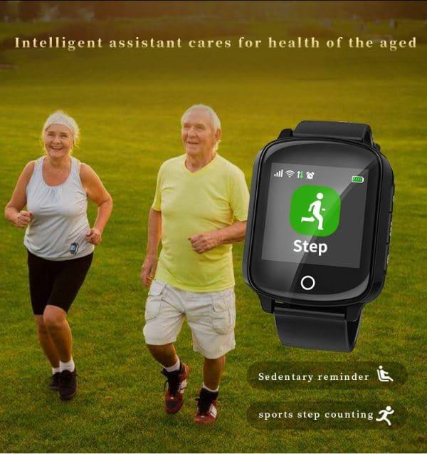 Senior SmartWatch with GPS SOS 6