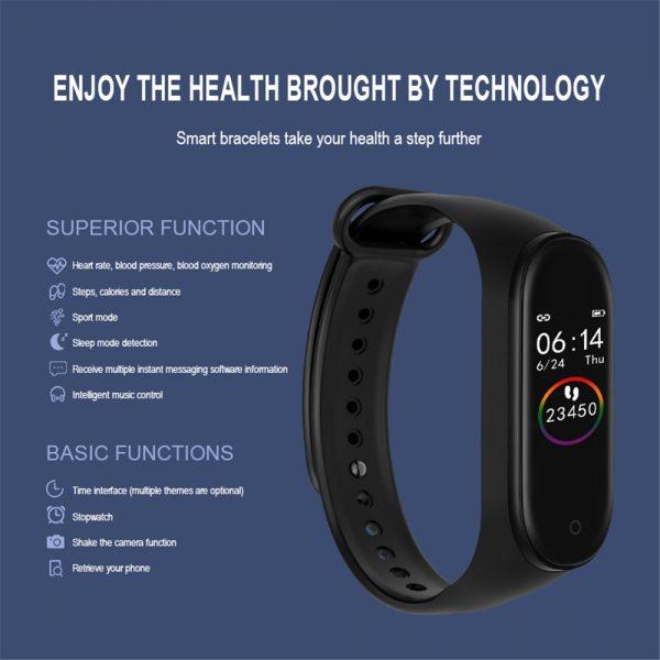 SportAid Smart Fitness Activity Tracker 2