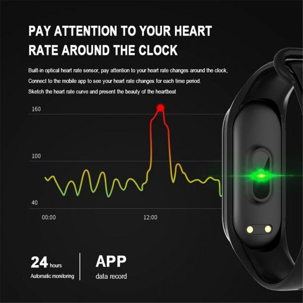 SportAid Smart Fitness Activity Tracker 4