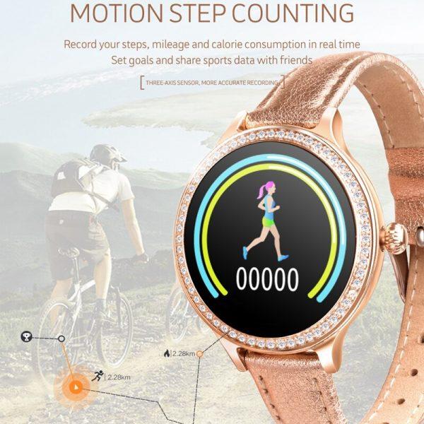 2020 Oriana Women's Smart Watch IP68 Waterproof 4