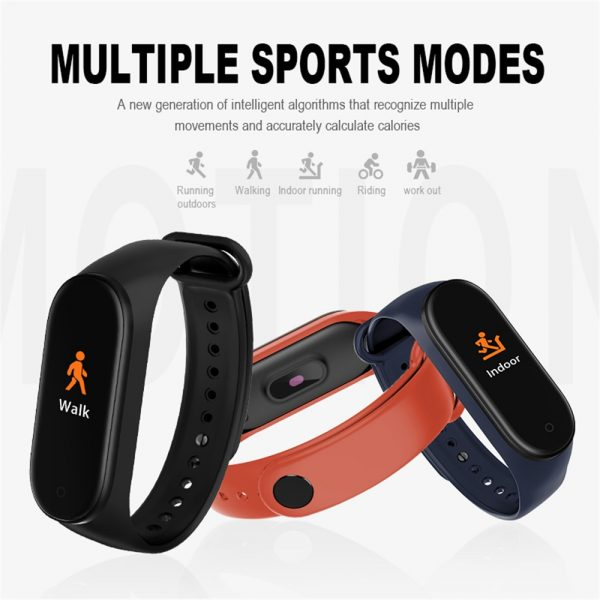 SportAid Smart Fitness Activity Tracker 5