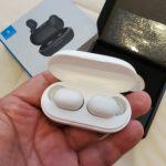 JAIR Wireless Fingerprint Touch Earbuds photo review