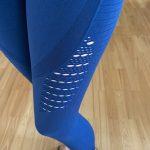 Women  Seamless Yoga Pants photo review