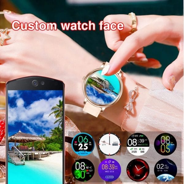 Anita 2021 Women's Full Touchscreen Sport Smartwatch For IOS & Android 5