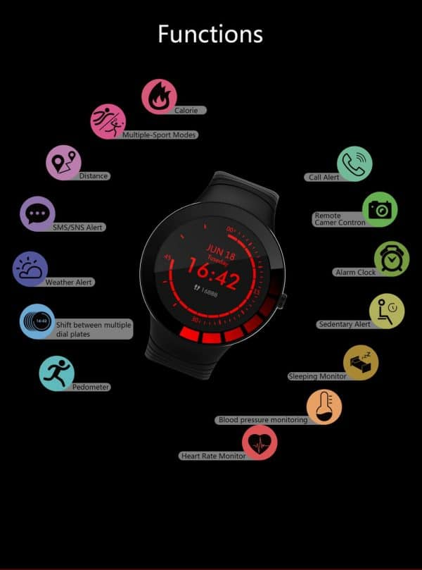 Danio Men's Sport Smartwatch 4