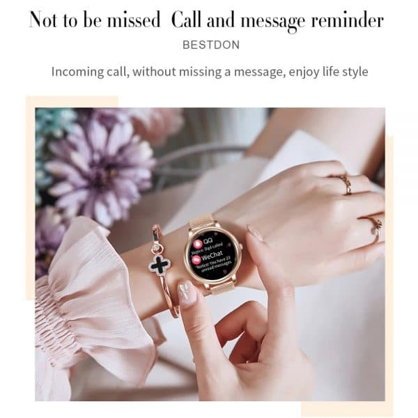 Anita 2021 Women's Full Touchscreen Sport Smartwatch For IOS & Android 2