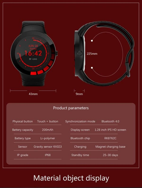 Danio Men's Sport Smartwatch 5