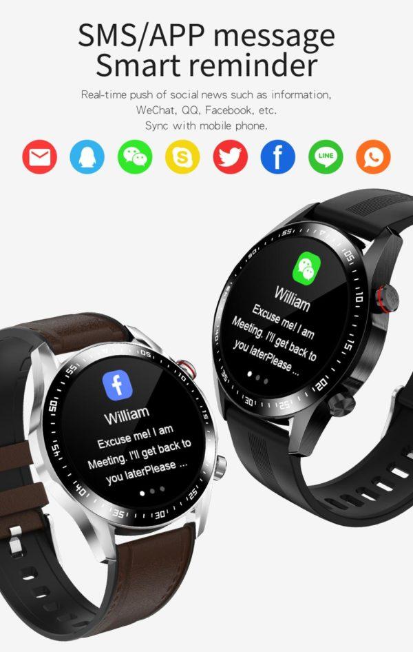 Lieto Men's Designer SmartWatch 4