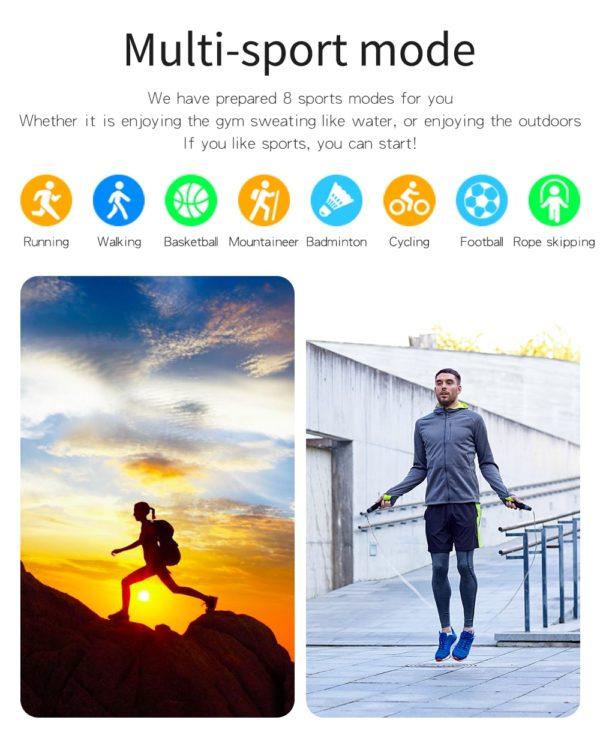 Lieto Men's Designer SmartWatch 5